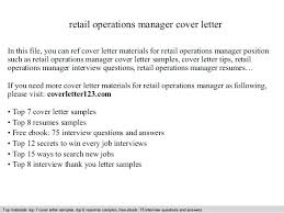Cover Letter For Manager Position In Retail Top Assistant Director
