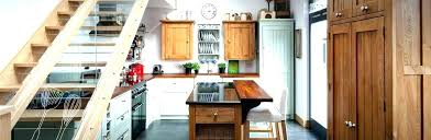 free standing kitchen counter shelves shelf space