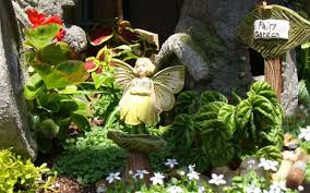 three fairy garden plans