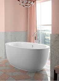 66 in kohler oval acrylic bathtub biscuit