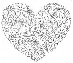 Small Picture Valentines Day Coloring Pages for Adults gobel coloring page