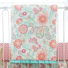 classy gypsy baby paisley crib baby bedding set crib bedding set my baby paisley nursery bedding sets j16482