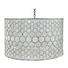 serena drum chandelier by oly lighting serena drum chandelier by oly lighting image 2
