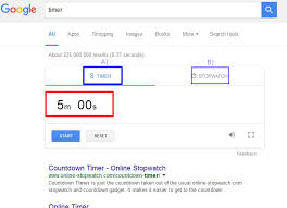 Timer 5m Google Timer Stopwatch Controls Parameters To Start