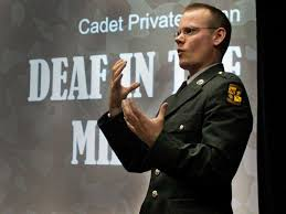 jobs with deaf people keith nolan deaf in the military ted talk