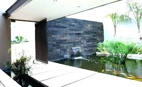 modern outdoor wall fountain best ideas amp inspiration water features images on modern outdoor wall fountain
