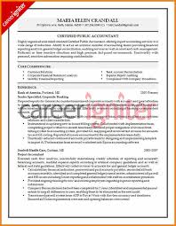 10 Cpa Resume Format Grittrader