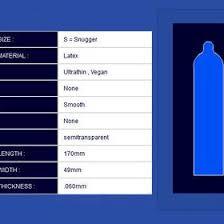 Skyn Condoms Size Chart Bedowntowndaytona Com