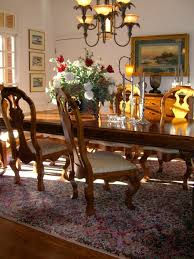 Furniture:Fabulous Dining Table Set With Long Glossy Table And High Back  Dining Chairs Also