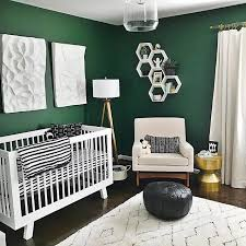 green baby furniture. Can\u0027t Get Enough Of These Emerald Green Walls Paired With Bright, Mod Pieces. The Clean Lines Hudson Crib Make For Nursery Perfection. Baby Furniture