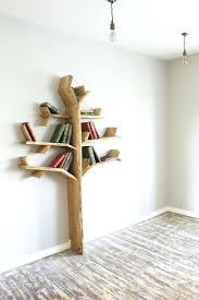 white tree wall decal with shelves best tree shelves images on tree shelf  nursery and oak