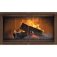 the heritage z heatilator fireplace doors