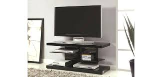 glass shelves black high gloss wood modern stand and tv wooden cabinet