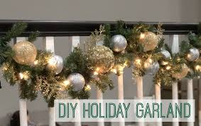 garland diy garland holiday garland decorations diy decorations