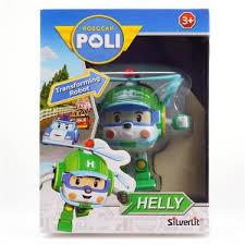 <b>Трансформер Silverlit Robocar Poli</b> Хелли 7,5 см 83048, <b>Silverlit</b>