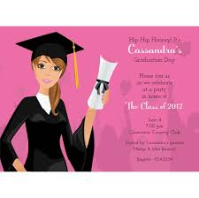 Grad Girl Brunette Graduation Invitations By Noteworthy Collections