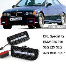 Car DRL Kit for BMW E36 318i 320i 323i 325i 328i LED Daytime ...