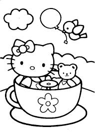 Disegni Di Hello Kitty Da Colorare Gratis Fredrotgans