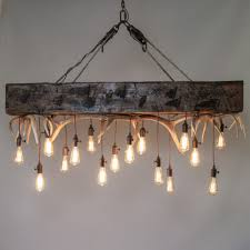 mountain modern timber chandelier timberline falls antler chandelier