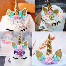 Jual Makadami Unicorn Cake Topper Unicorn Cake Decorations