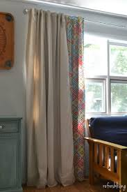 Drop Cloth Curtains Tutorial Diy Drop Cloth Curtains Modified For A Large Window Refresh Living
