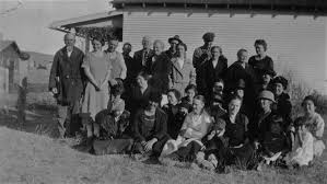 Suffolk, Montana, Party for Granny Anderson, 1923 - Central Montana  Historical Photographs - Montana Memory Project