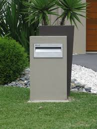 Modern Letterbox Ideas Entrancing Modern Letterbox Ideas Home Design Review
