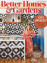 better home and garden magazine. HILARY DUFF In Better Home And Gardens Magazine, February 2018 Garden Magazine