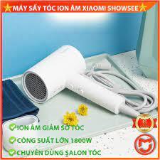 CHÍNH HÃNG] Máy sấy tóc Xiaomi Showsee, ion âm chống khô tóc, công suất lớn  1800w, chuẩn salon MIJIAMART