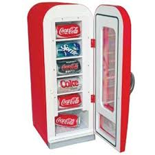 Retro Soda Vending Machine Classy Koolatron Retro Styled Soda Vending Machine Fridge