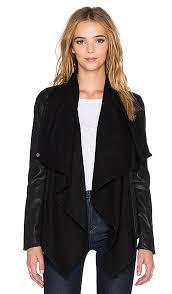 waterfall pu jacket