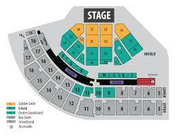 columbia bank concert series seat map concert layout