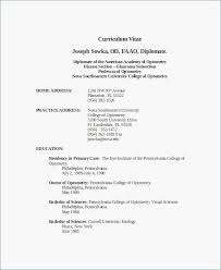 How To Format A College Resume 25 Doc Formatting A Resume New