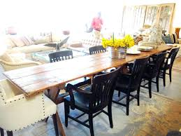 Long Narrow Dining Table Plans