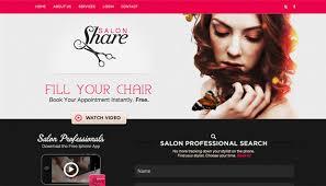 Hair Saloon Websites Salon Website Design Annie Pinks Beauty Salon Website
