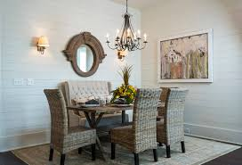 dining room set with settee. warm dining settee bench with tufted banquette and traditional chairs wooden table vase room set r