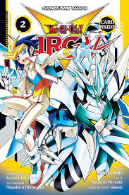 book cover image jpg yu gi oh arc v vol 2