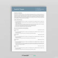 Curriculum Vitae Design Template Best Of Modern Resume Design