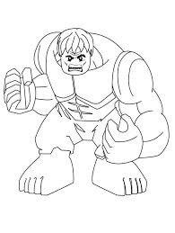 Free printable hulk coloring pages. Lego Hulk 1 Coloring Page Free Printable Coloring Pages For Kids