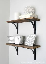 diy bathroom decor ideas. Rustic DIY Bathroom Shelving | Decorating Ideas On A Budget Diy Decor D