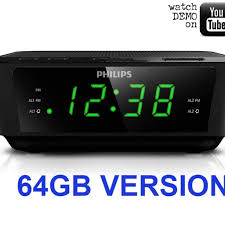 elegant latest wifi alarm clock radio siesta s2 graphite digital and fm pure