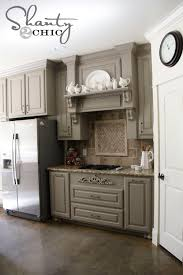 painted gray kitchen cabinetsInspiration of Grey Cabinets Kitchen and Remodelaholic Grey And