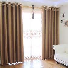 polyester made living room curtains designs in modern way