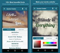 40 Best Quotes Creator Apps For Android Android Apps For Me Delectable Picture Quotes Creator
