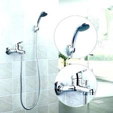 tub faucet with shower to converter bathtub handheld diverter broken b