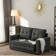 new linen cotton futon sofa bed couch