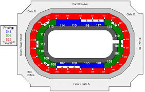 Peach Bowl Seating Chart 2018 Seating Charts Cure Insurance Arena