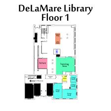 delamare main floor map