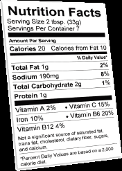 Nutrition Labels Template Nutrition Facts Label Template Clipart Images Gallery For