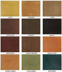Perfect Stained Concrete Patio Colors Stain For I With Design Inspiration